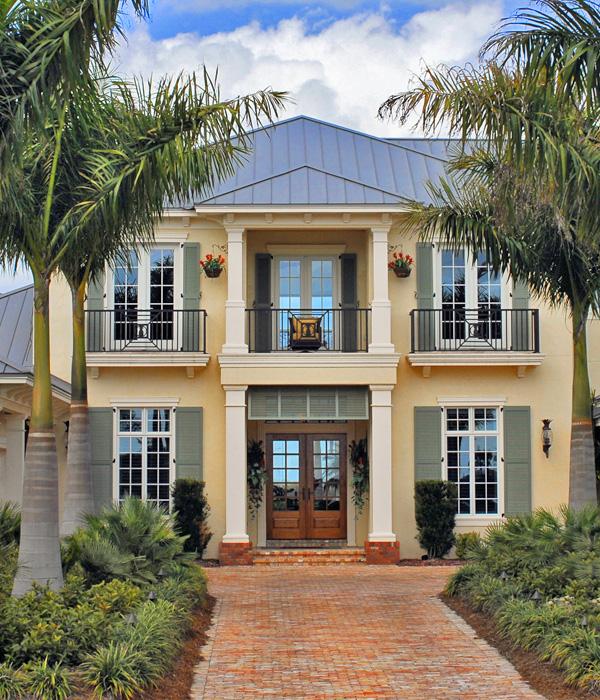 florida style home image